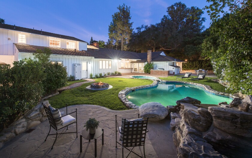 "The Encino home was owned by actor Ron Howard during his time on ""Happy Days."""