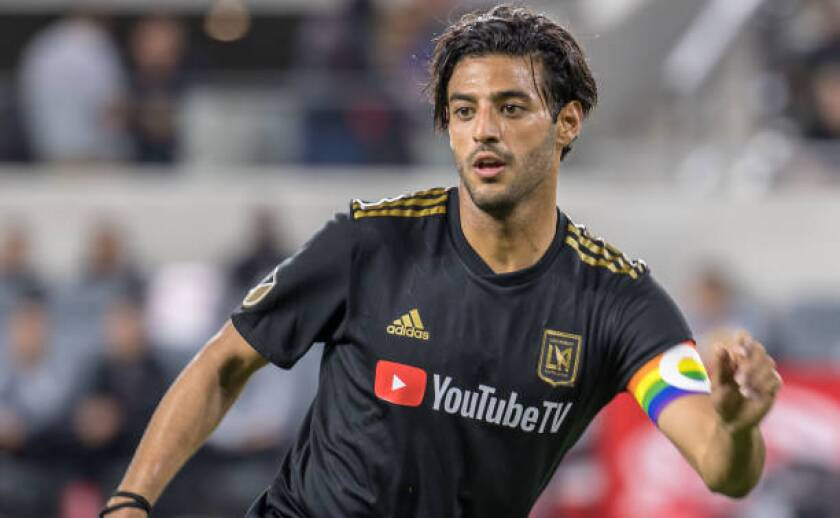"LAFC star Carlos Vela is taking on a new role — as an executive producer of  the ""40 Days: Canelo vs. Kovalev"" docuseries."
