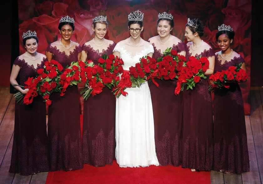 2019 Tournament of Roses Rose Queen announcement and coronation