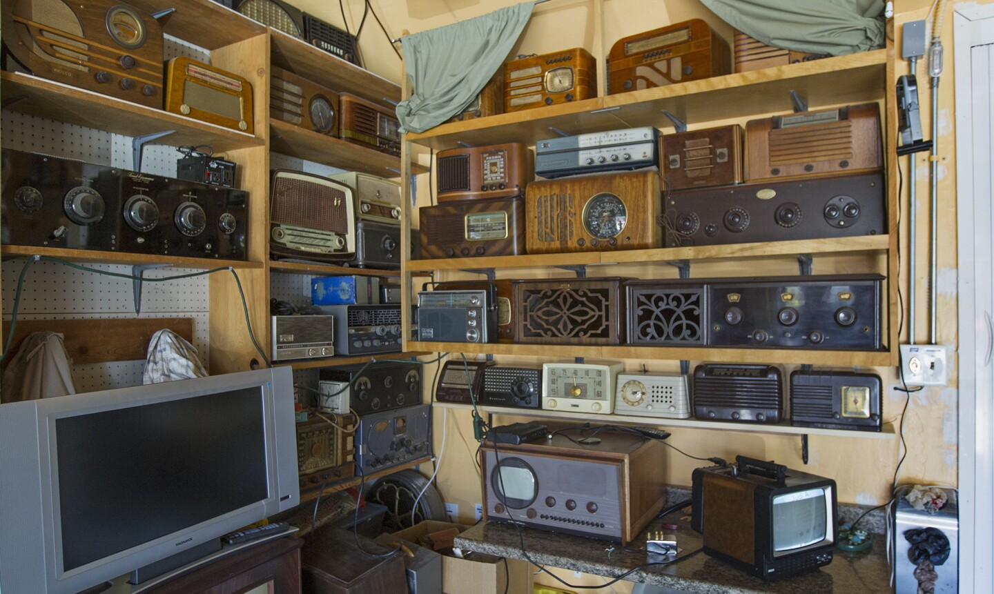 Collector rescues old radios