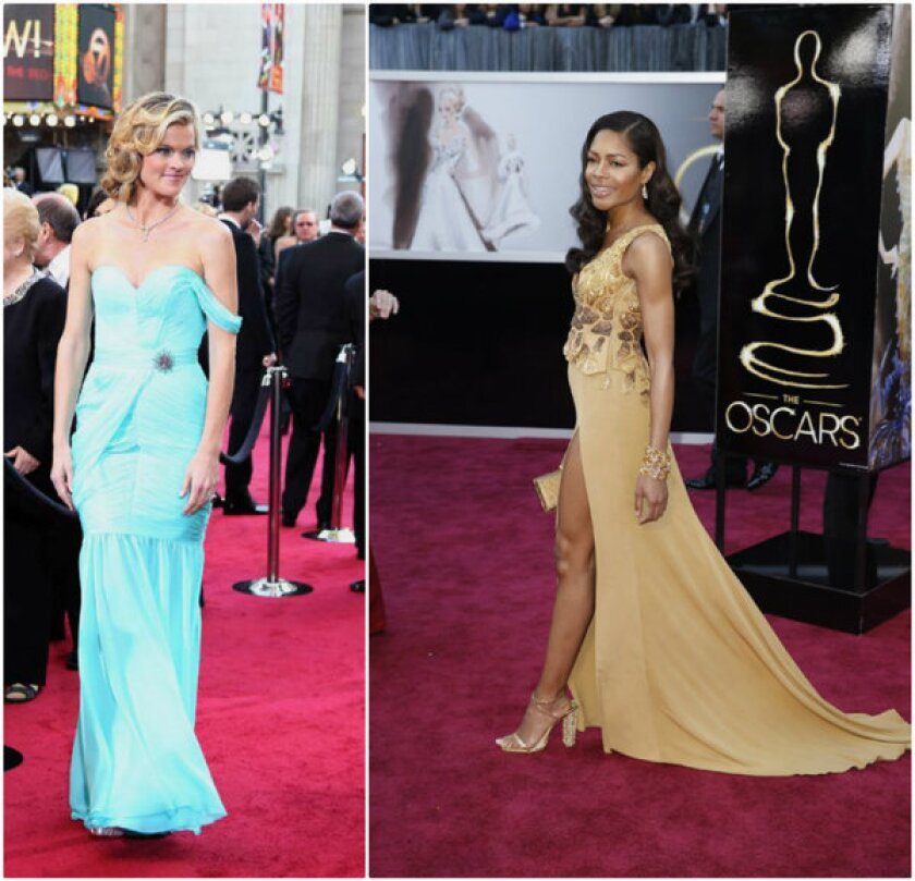 Red Carpet Green Dress Contest Gowns