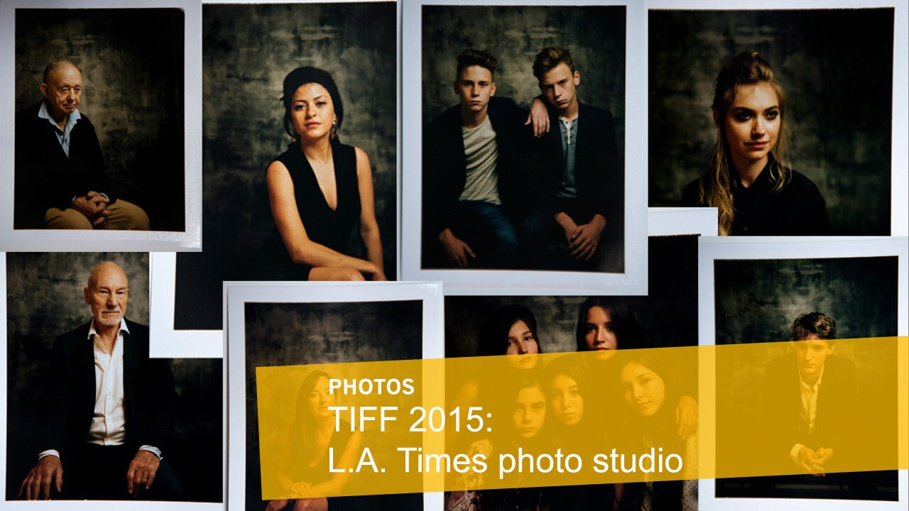 Stars of the festival are photographed in the L.A. Times photo studio at the 40th Toronto International Film Festival, which ran Sept. 10-20.