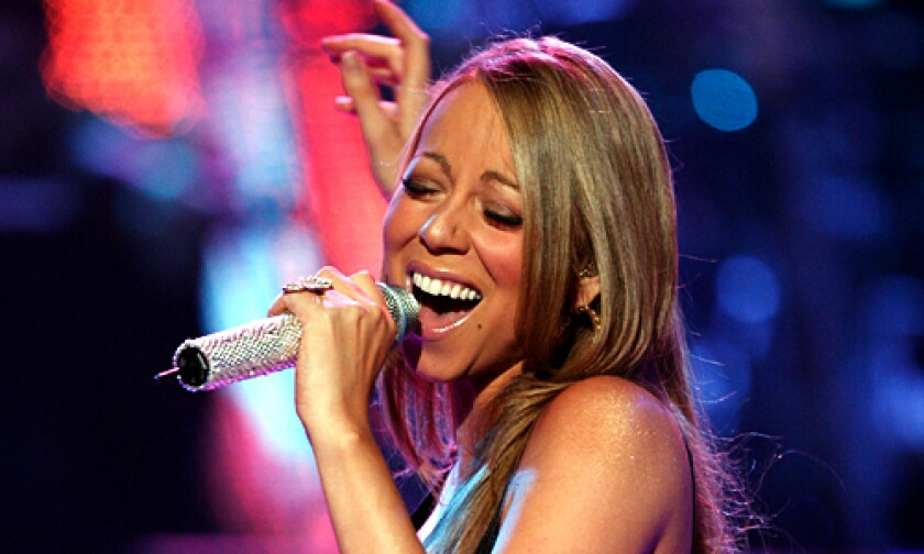 POP DIVA: Mariah Carey's new CD is out Tuesday
