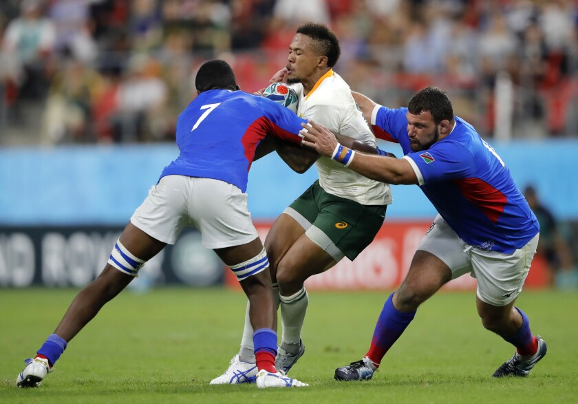 Japan Rugby WCup South Africa Namibia