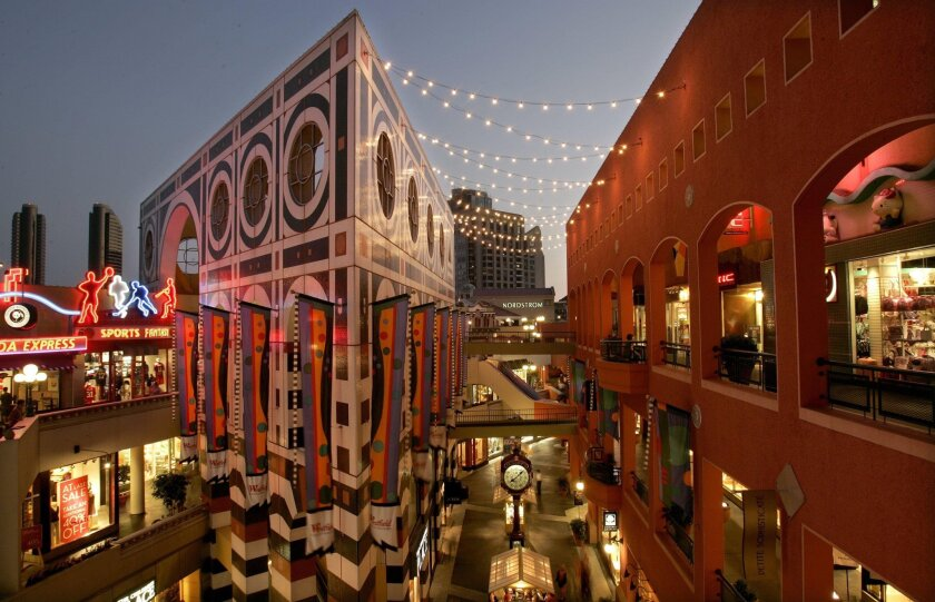 Nordstrom was one of Horton Plaza's original anchors when the mall opened in 1985. The store will close Aug. 26.