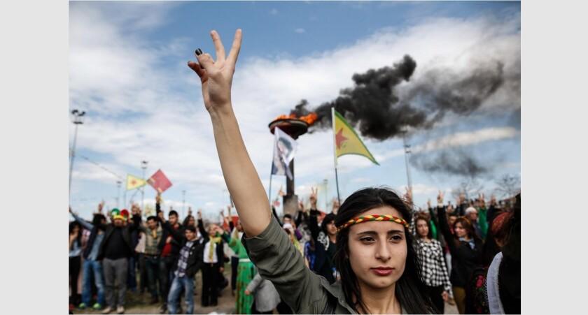 Turkish Kurds celebrate
