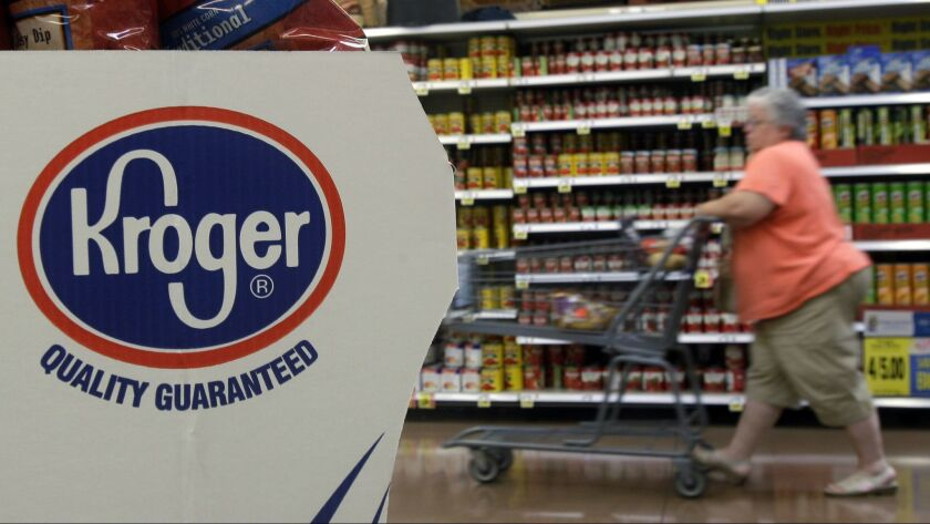 Kroger and Walgreens have formed a partnership in which the grocer will add 2,300 products at 13 Walgreens locations in Northern Kentucky.