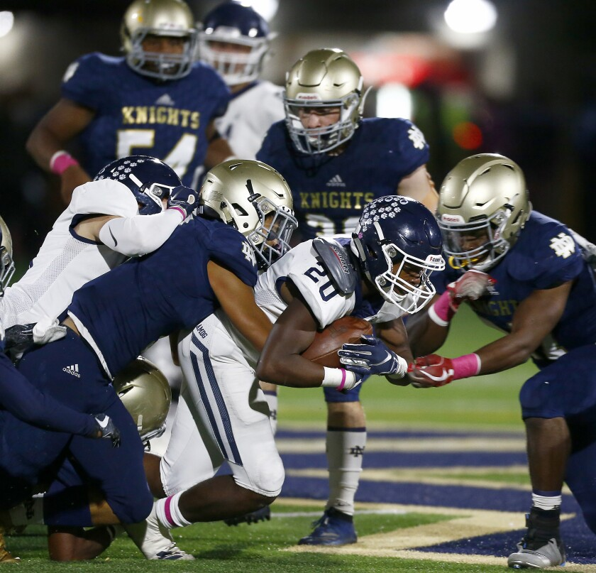 The Times' high school football rankings