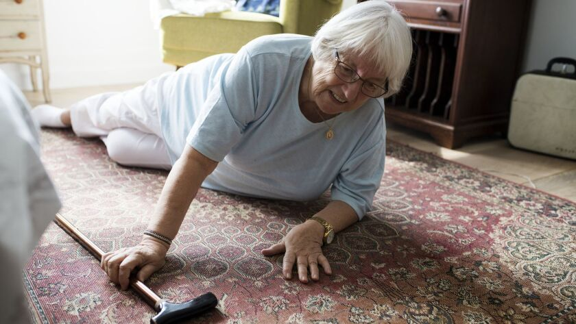 Falls are the leading cause of injury death for those 65 or older, according to the U.S. Centers for Disease Control and Prevention. That's why it's important to prevent them.