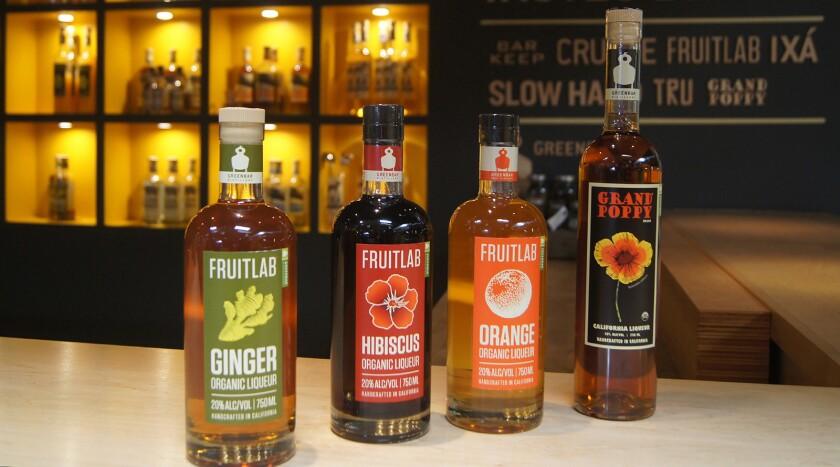 Greenbar Craft Distillery Organic Liqueur