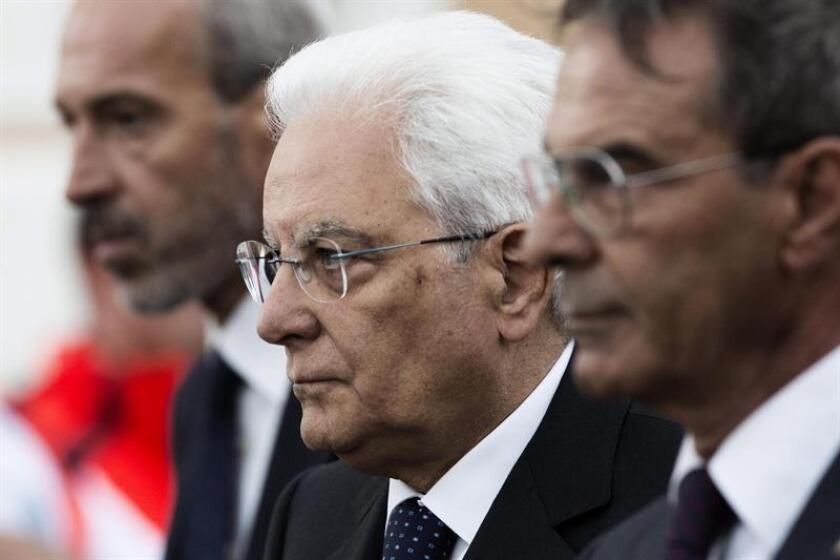 Autoridades italianas realizaron un fineral de estado para despedir a víctimas de terremoto.
