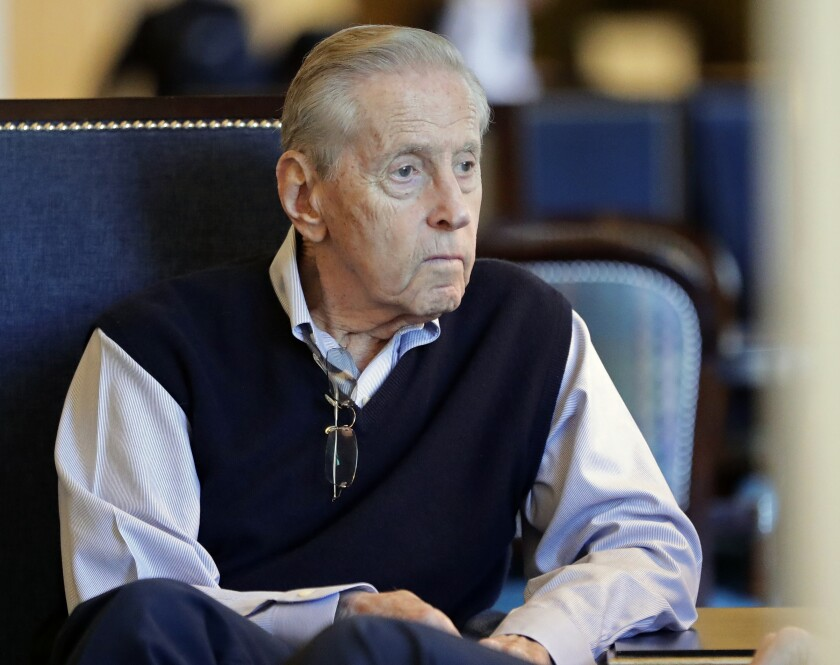 New York Mets principal owner Fred Wilpon.