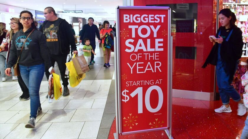 Forget Black Friday The Biggest Shopping Day Is Saturday Before Christmas Los Angeles Times