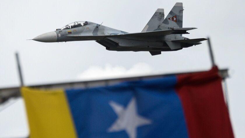 FILES-VENEZUELA-CRISIS-MILITARY-AIR FORCE-YANEZ