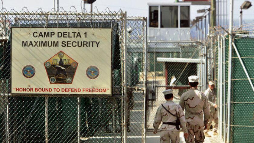 Foto de archivo de la cárcel de Guantánamo.