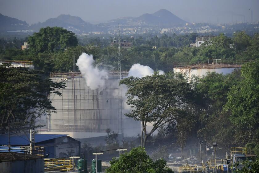 India Gas Leak Permissions