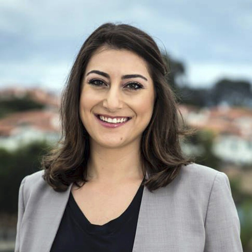 Sara Jacobs, 31, is California's youngest U.S. House representative.