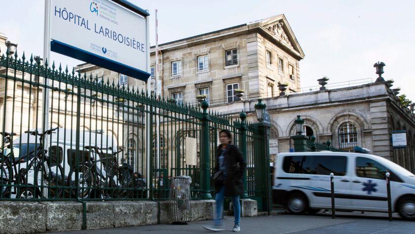 The Lariboisière Hospital in Paris