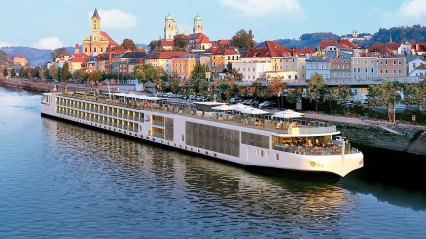 Viking's river cruises sail on the Danube River, among other European itineraries.