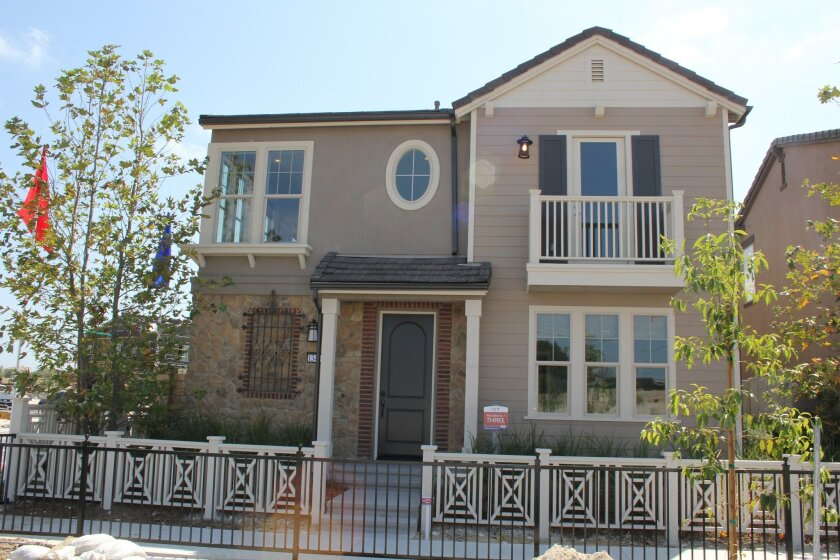 Taylor Morrison Homes opens its new Elms and Ivy communities in Pacific Highlands Ranch on Saturday, Aug. 22. Photo by Karen Billing