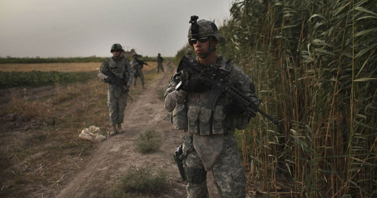 Op-Ed: I was an Army grunt at the pointy end of the American spear. But no longer