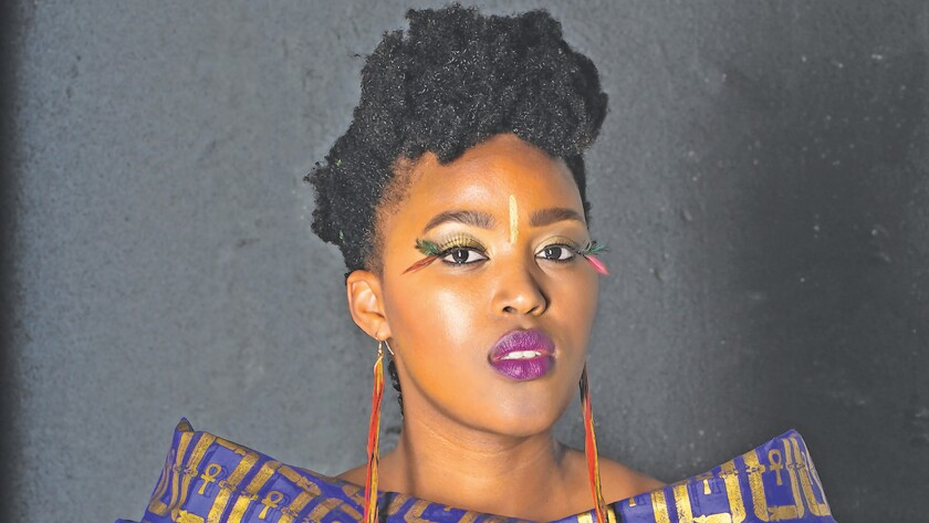 South African singer/guitarist Msaki will be at UCSD's The Loft Feb. 12, 2019.
