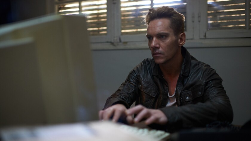 """Jonathan Rhys Meyers as Ari Ben-Sion / Hans Hoffmann in the film """"Damascus Cover."""" Credit: Jake Thom"""