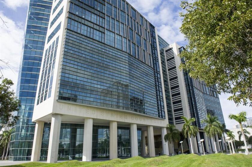 Vista general del edificio Wilkie D. Ferguson de la Corte de Justicia Federal, en Miami (Estados Unidos). EFE