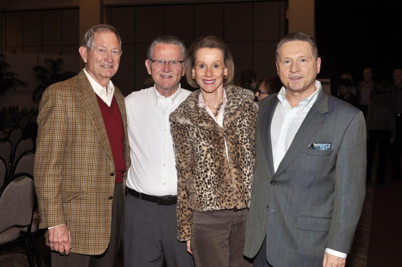 Denny Metzler, Rand Mulford, Joyce and Paul Dostart