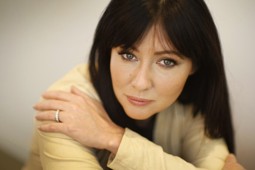 Actress Shannen Doherty, shown in 2012, has been fighting breast cancer since early 2015.