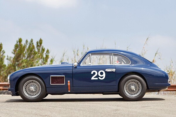 1950 Aston Martin DB2 Coupe - Los Angeles Times