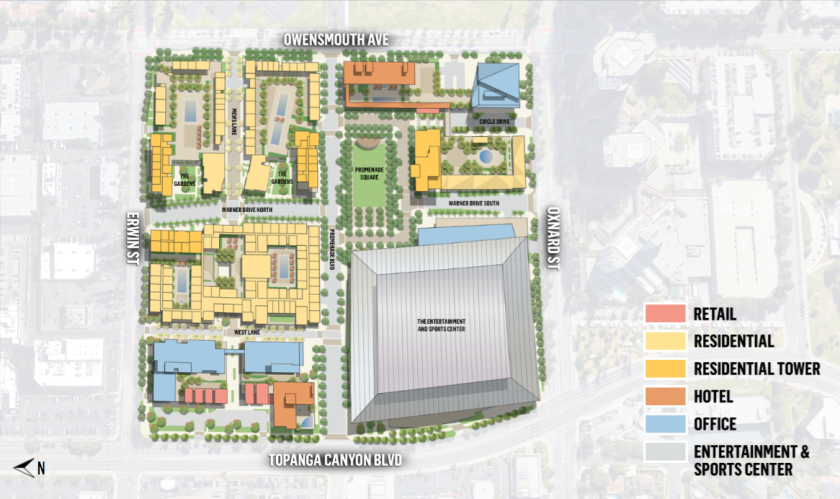 A map of the proposed Westfield development