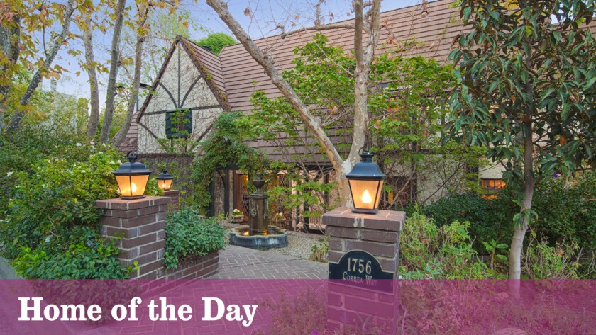 Home of the Day: Tudor-style on the Westside