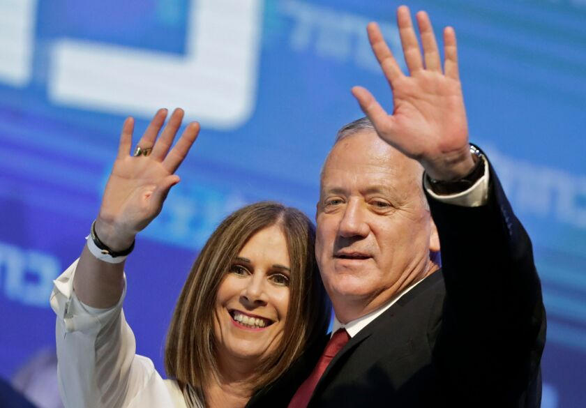 Benny Gantz and wife Revital