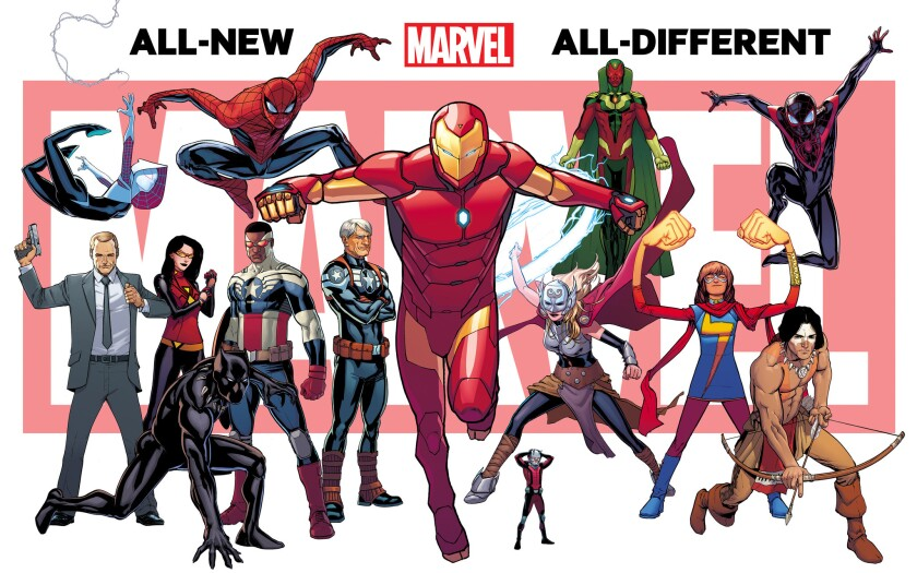 Marvel's new lineup
