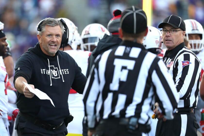 Utah coach Kyle Whittingham probably is aware his team needs to beat Oregon by double digits Friday night to have a shot at a College Football Playoff berth.