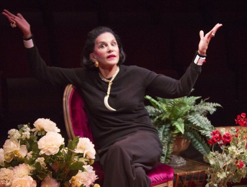 Mercedes Ruehl stars as Diana Vreeland in 'Full Gallop' at The Old Globe Theatre.
