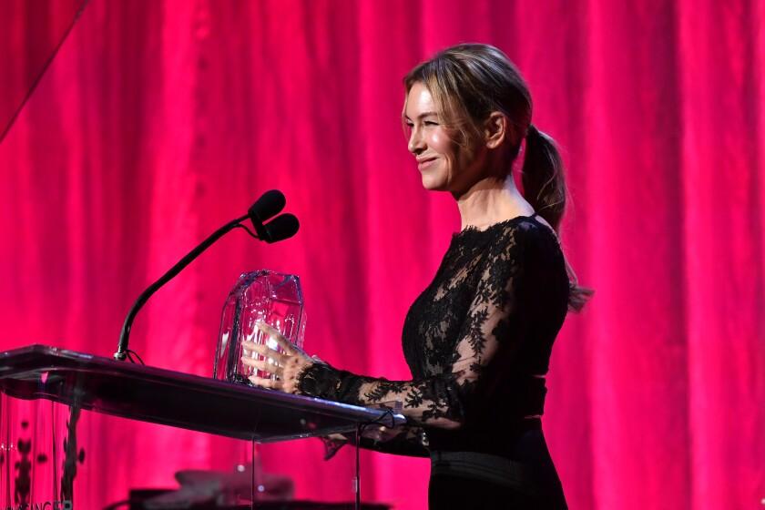Honoree Renée Zellweger