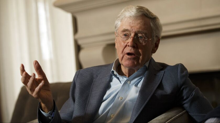 Charles Koch in 2015.
