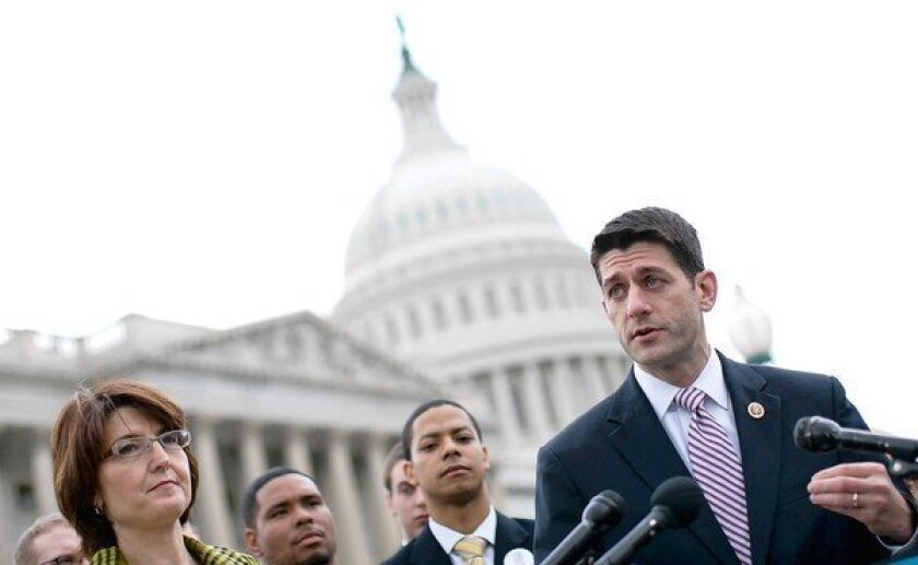 Republican Rep. Paul D. Ryan of Wisconsin is preparing a budget plan that includes changes to Medicare that would start for those who are now 56 and younger.