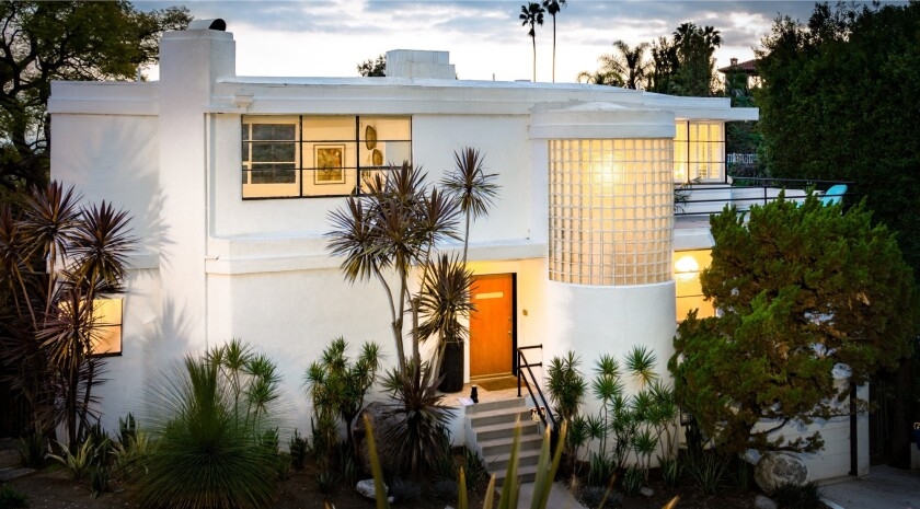 Jake Shears' Los Feliz home