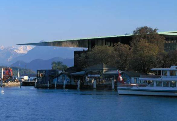 Cultural and Conference Center in Lucerne, Switzerland.