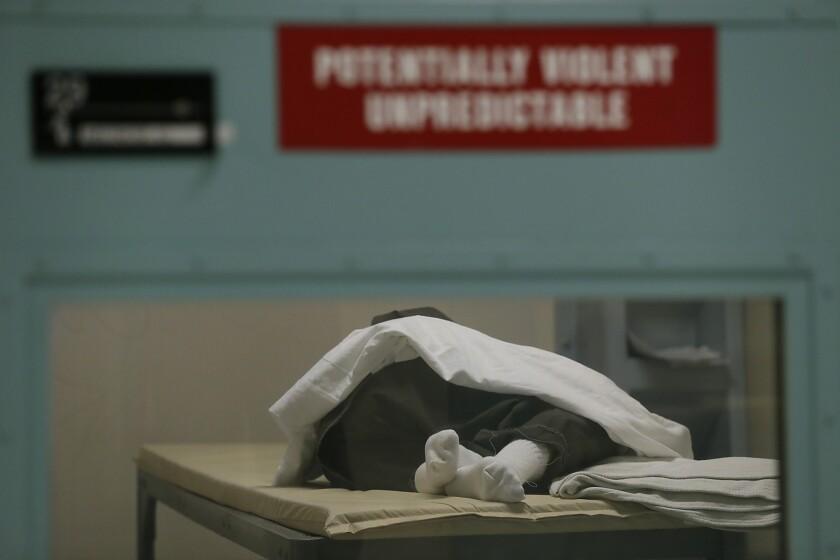Jail psychiatric unit