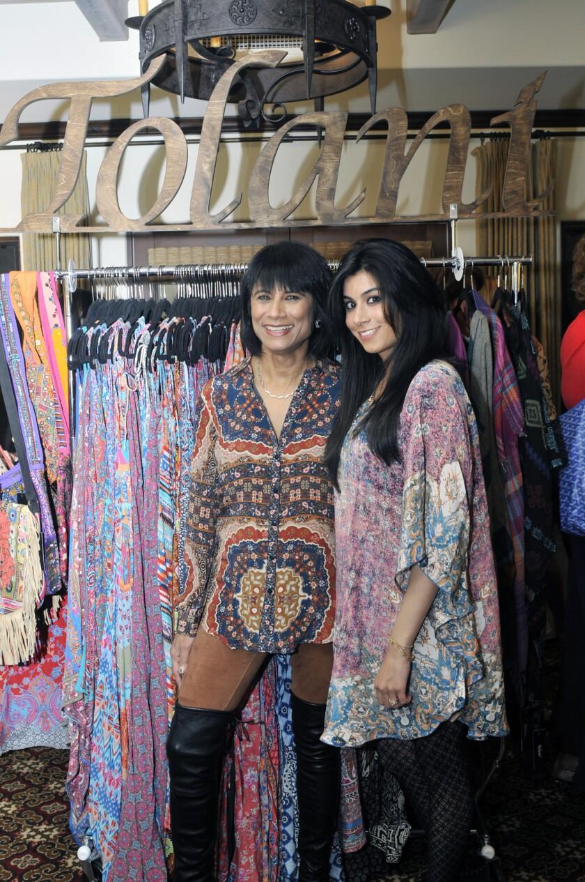 Designer Alka Tolani and designer Aishya Tolani