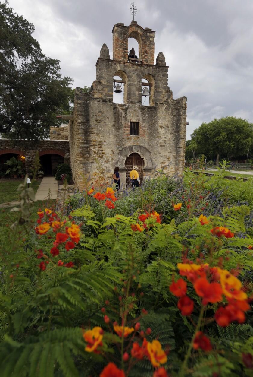 La Unesco declaró patrimonio de la humanidad las misiones católicas ubicadas en la ciudad de San Antonio, Texas.
