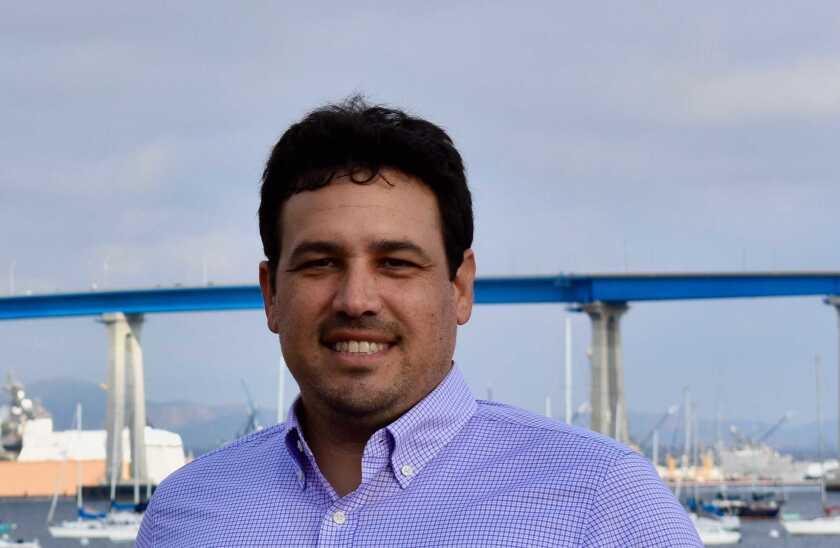Luke Serna, who is a Coronado resident and alumnus.