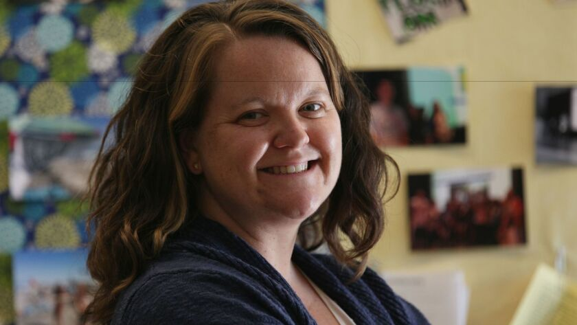 Megan Gross, a Poway special education teacher, has been selected as one of four finalists for National Teacher of the Year.