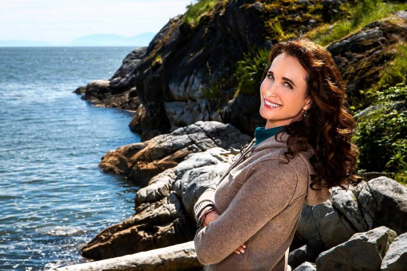 "Andie MacDowell plays Olivia Lockhart, a municipal judge, in ""Debbie Macomber's Cedar Cove."""