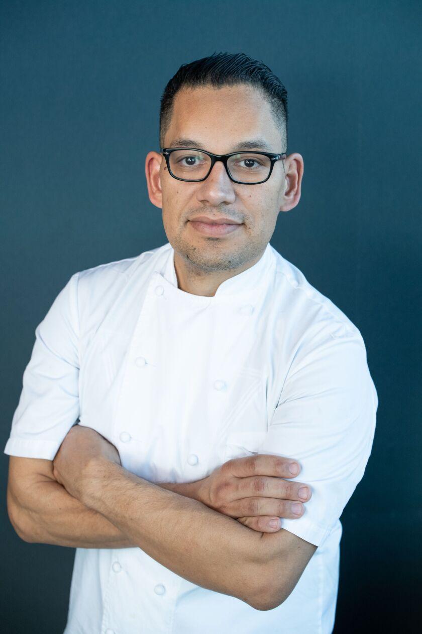 Bull and Bourbon chef Aldo Negrete.