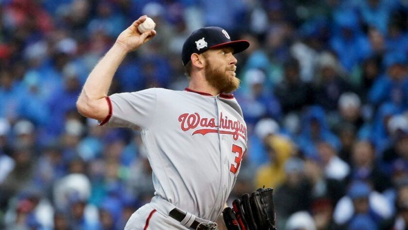 All-Star pitcher Stephen Strasburg is asking $1.349 million for a Spanish-style house in his hometown of San Diego.
